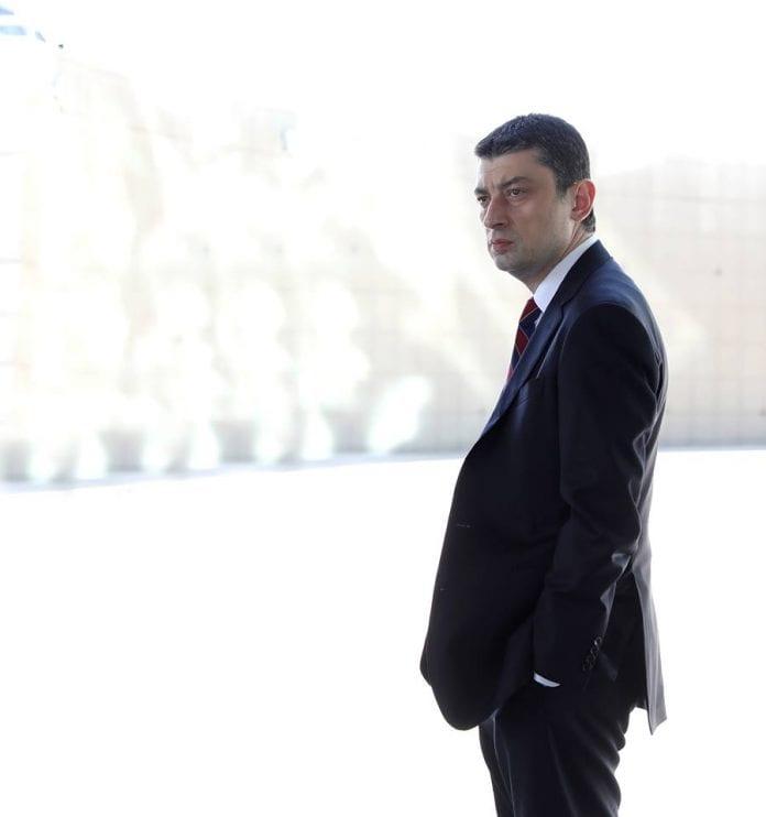 Sakartvelo ministras pirmininkas Georgijus Gacharija