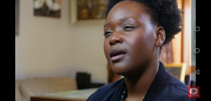 krikščionė aktorė Seyi Omooba kalba