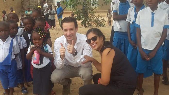 Nužudytasis ambasadorius tarp Kongo vaikų