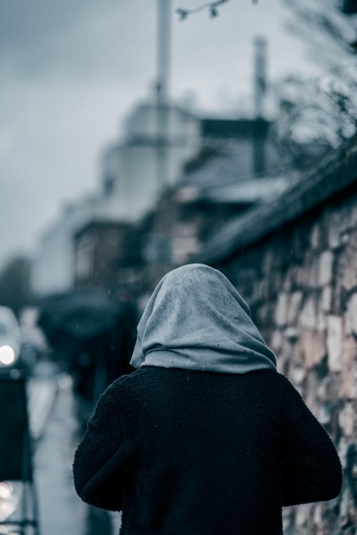vienišas žmogus