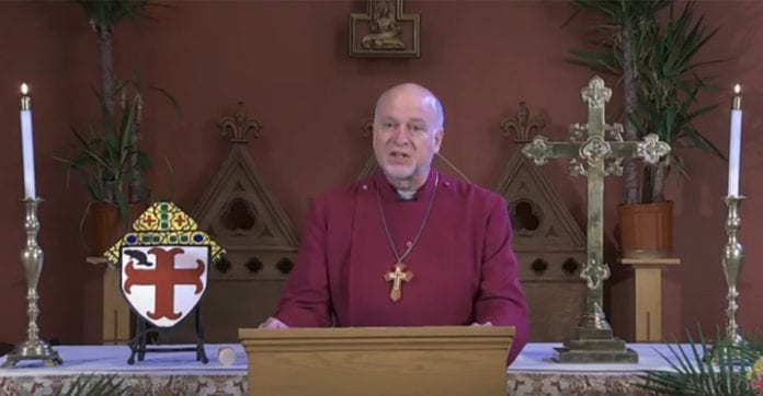 JAV episkopalinės bažnyčios vyskupas Williamas H. Love'as