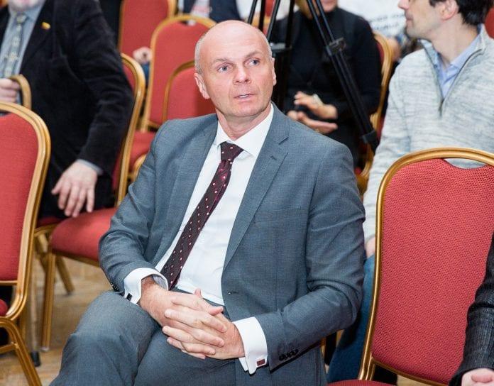 Seimo Kultūros komiteto narys Arminas Lydeka