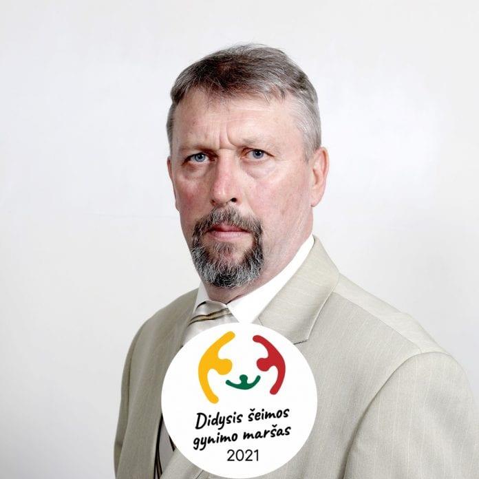 Raimondas Grinevičius, protesto akcijos iniciatorius ir vadovas