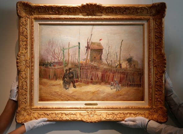 Vincento van Gogho paveikslas parduotas už daugiau nei 13 mln. eurų