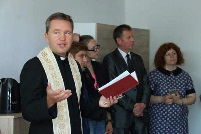 Vydmantų parapijos klebonas Karolis Petravičius