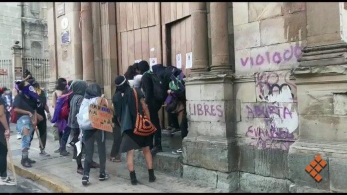 Meksikoje surengtas vandalizmo aktas