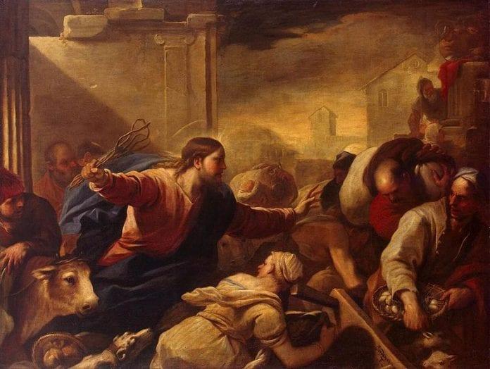 Jėzus išvaro prekeivius