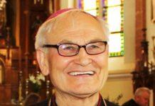 Panevėžio vyskupas emeritas Jonas Kauneckas