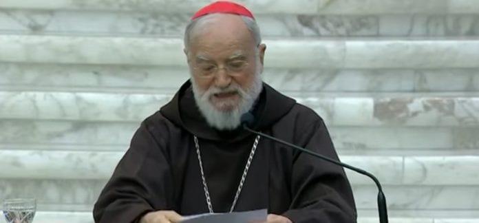 kardinolas Raniero Cantalamessa OFM Cap kalba