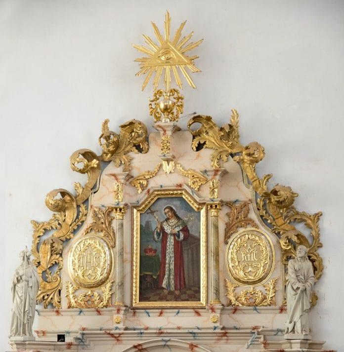 Šv. Kazimiero paveikslas Kretingos bažnyčioje / Facebook nuotr,