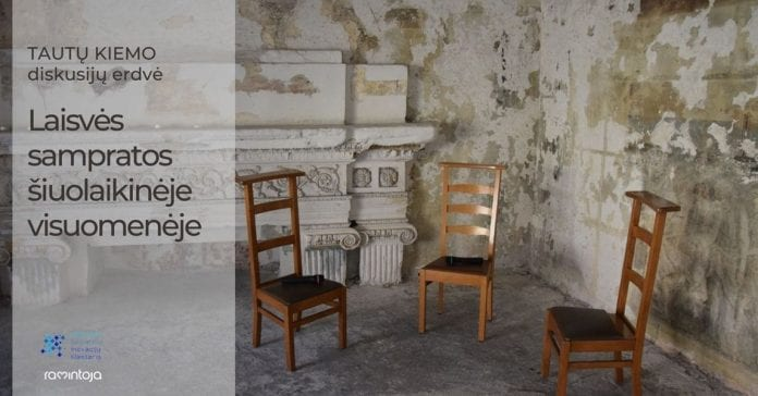 TAUTŲ KIEMAS Vilniaus Švč. Mergelės Marijos Ramintojos bažnyčioje : Laisvės sampratos šiuolaikinėje visuomenėje