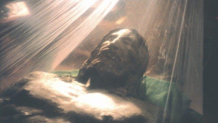 Turino drobulės atvaizdo rekonstrukcija