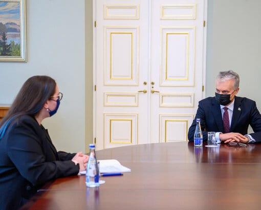Prezidentas Gitanas Nausėda / Lietuvos Respublikos Prezidento kanceliarijos / Roberto Dačkaus nuotr.