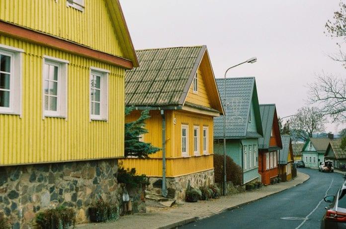senoviniai namai Lietuvoje