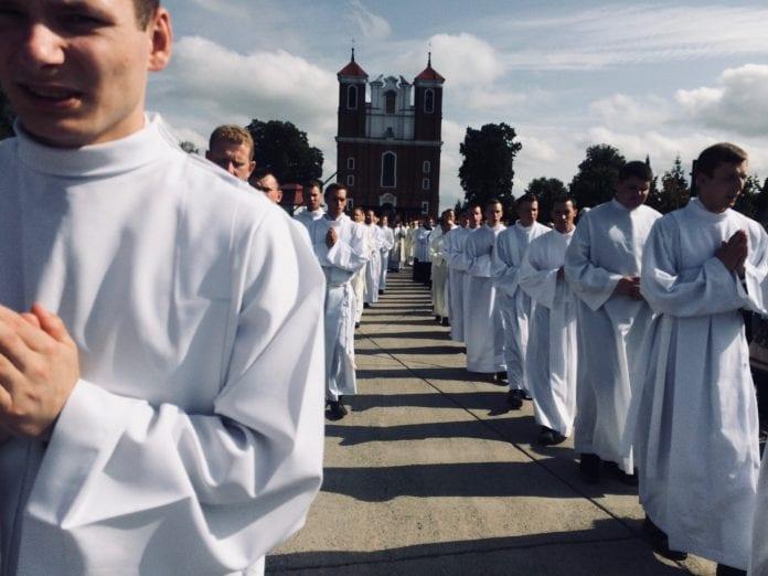 Vilniaus šv. Juozapo kunigų seminarijoje eina seminaristai
