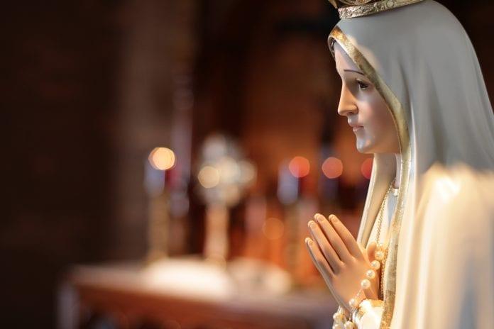Fatimos Dievo Motinos statula