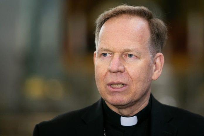 Vilniaus arkivyskupas Gintaras Grušas kalba