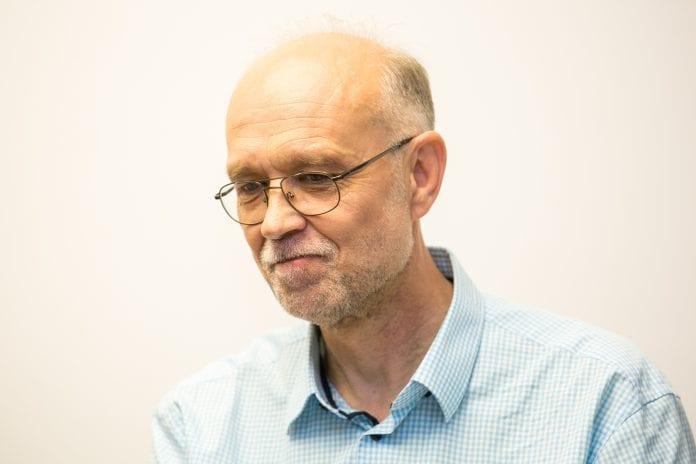 Dr. Gintautas Vaitoška susirinkime