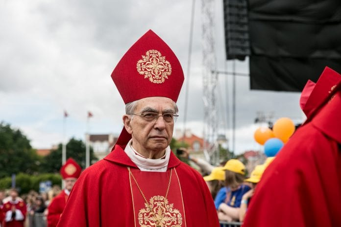 Arkivyskupas emeritas kardinolas Audrys Juozas Bačkis