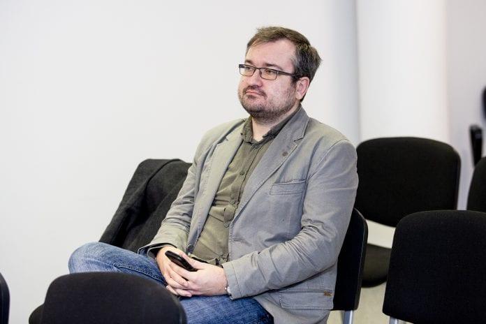 Žurnalistas Šarūnas Černiauskas