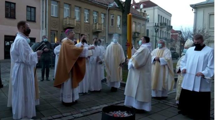 Velyknaktis Kauno arkivyskupijoje