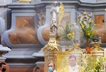 Arkivysk. Kęstučio Kėvalo vadovaujama malda