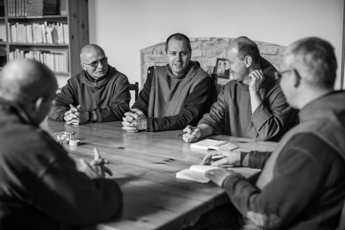 Tėvas Reno - Marie išrinktas Šventojo Jono brolių vienuolyno prioru