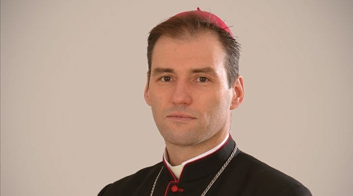 vyskupas Aleh Butkevič