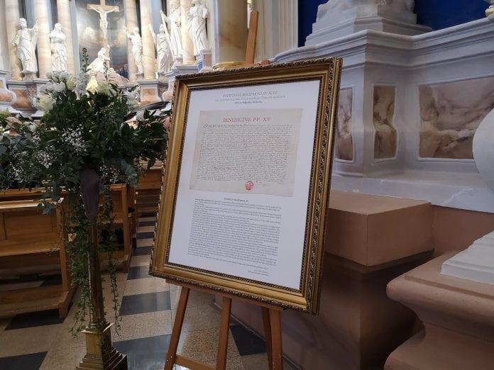 Popiežiaus Benedikto XV bulė