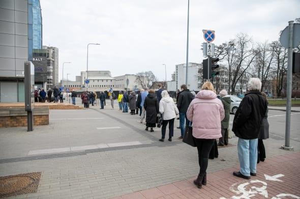 Vilnius per Velykas žada paskiepyti 12 tūkst. žmonių