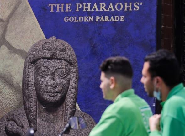 """Egiptas rengiasi """"Auksiniam faraonų paradui"""""""
