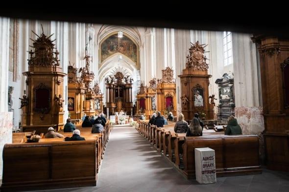 Bažnyčia per karantiną