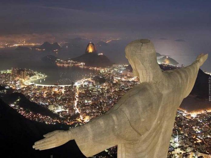 Rio de Žaneire stovinti Kristaus Atpirkėjo statula