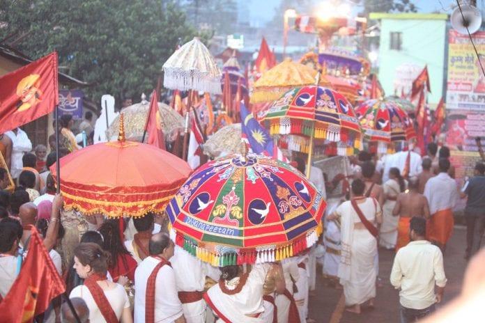Kumbha Melos festivalio šventimas
