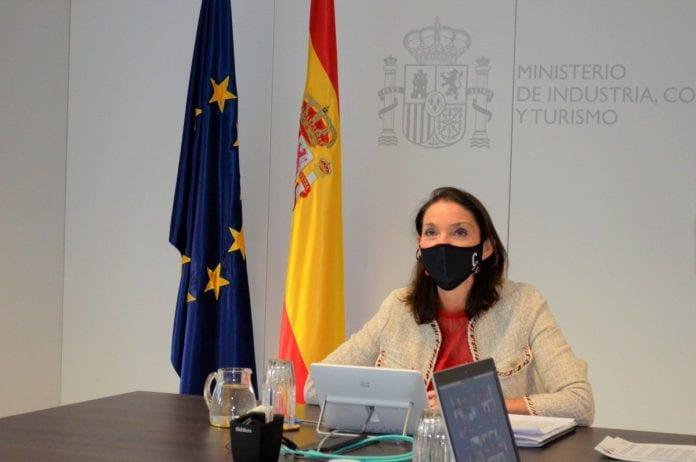 Ispanijos turizmo ministrė Reyes Maroto