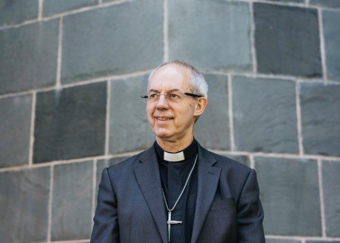 Kenterberio arkivyskupas Justin Welby