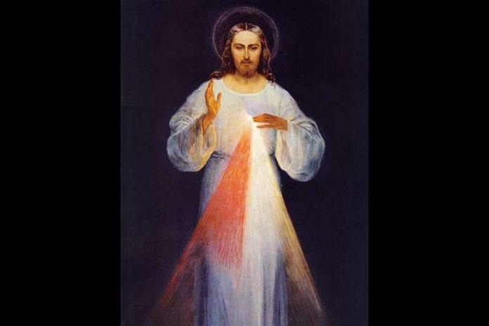 Originalus Dievo gailestingumo paveikslas