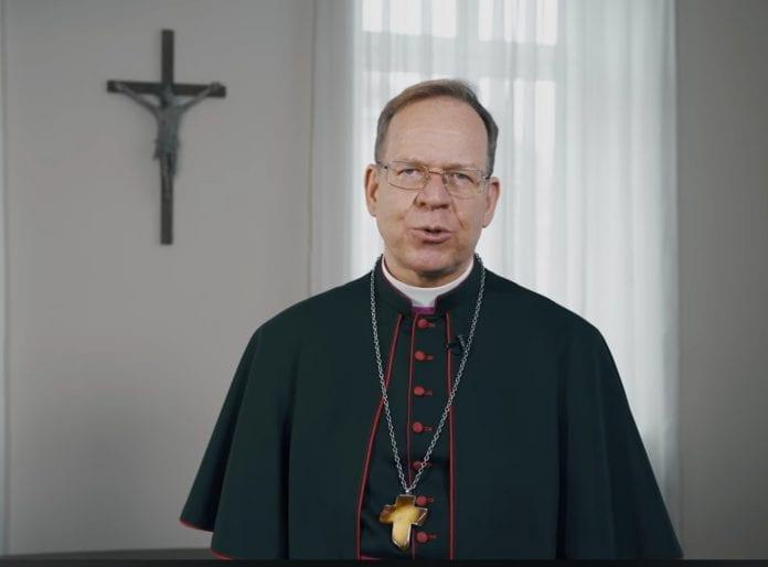 Vilniaus arkivyskupas Gintaras Grušas sveikina šv. Velykų proga / Vilniaus arkivyskupijos nuotr.
