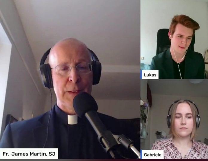 """VU nuotolinė paskaita """"Kristus priima kiekvieną žmogų"""" su James Martin"""
