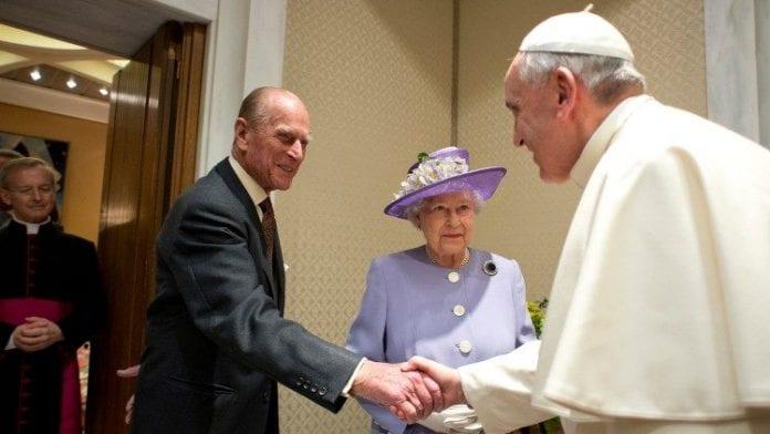 Šventasis Tėvas pareiškė užuojautą dėl princo Philipo mirties