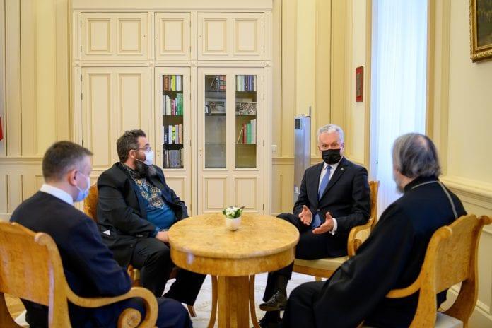Prezidentas Gitanas Nausėda susitiko su tradicinių krikščioniškųjų bendrijų vadovais