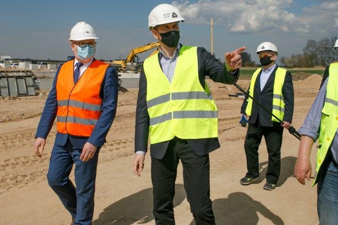 dujotiekio statybos