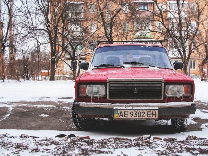 automobilis Ukrainoje