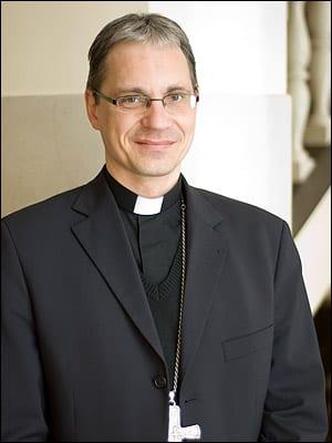 Vilniaus arkivyskupijos vyskupas augziliaras Arūnas Poniškaitis