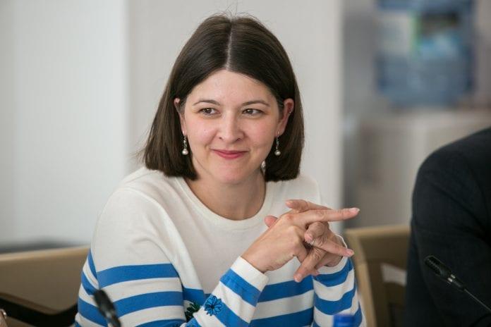 Finansų ministrė Gintarė Skaistė