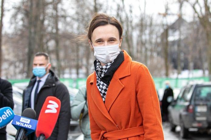 Seimo Pirmininkė Viktorija Čmilytė-Nielsen sveikina