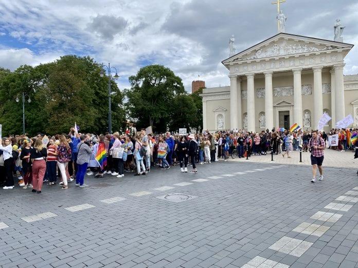 Vilniuje LGBT eitynes uz lygybe