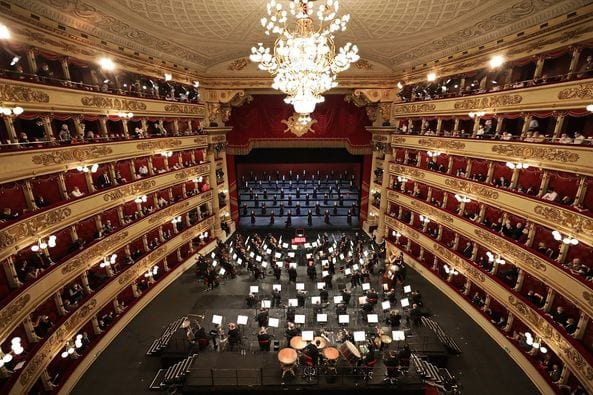 """""""Teatro alla scala"""