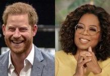 Oprah Winfrey ir britų princas Harry