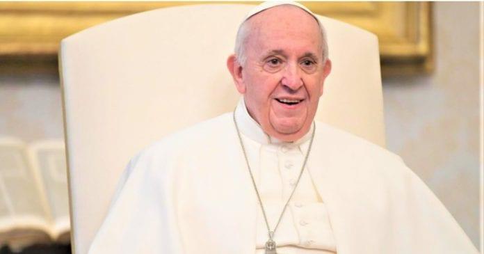 Popiežius Pranciškus sakė